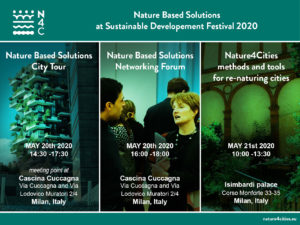 cancelled: NBS in the spotlight at the Sustainable Development Festival in Milan @ Milano